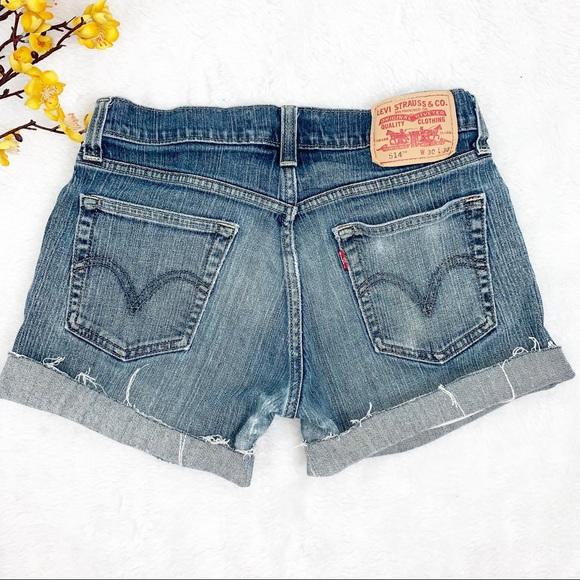 Levi's Pants - LEVIS 514 Sz 30 Denim Cutoff Shorts